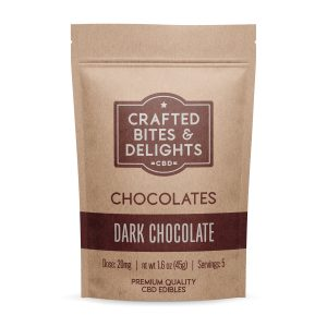 Crafted Bites and Delights Dark Chocolates
