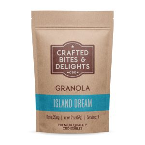 Crafted Bites and Delights Island Dream Granola